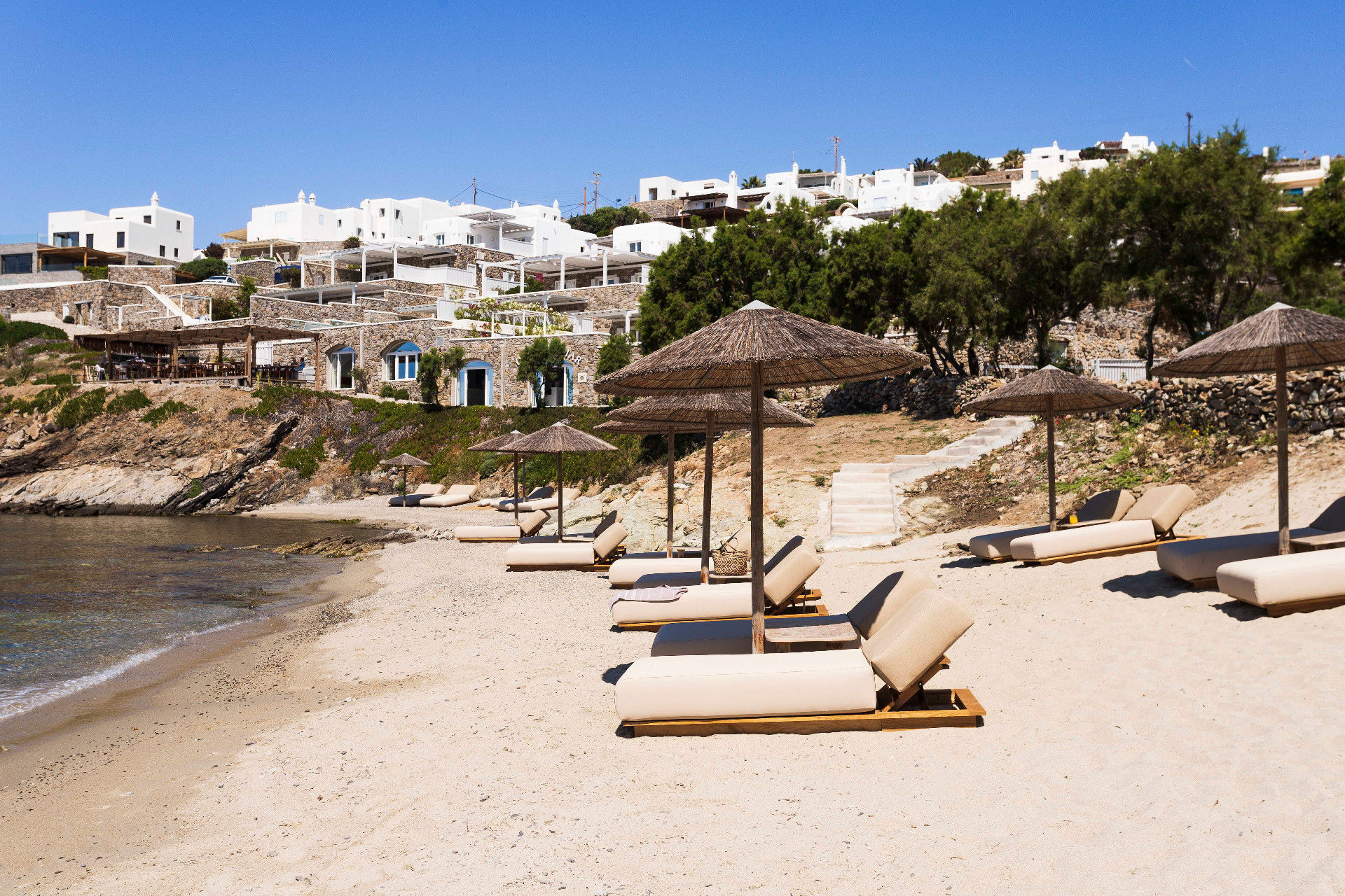 Glyfadi Beach within Casa Del Mar Mykonos